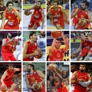 Los 12 elegidos. Fuente: ACB