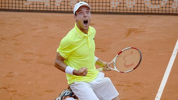 El tenista Roberto Bautista ha alcanzao su 2º título en la ATP World Tour. Fuente: EFE