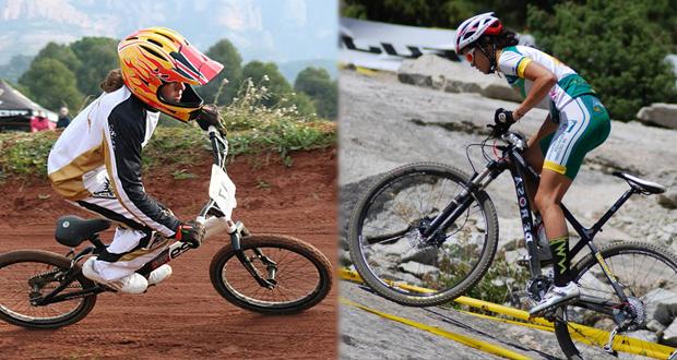 Las ciclistas Elisabet Escursell y María Rodríguez representarán a España en los Juegos Olímpicos de la Juventud. Fuente: AD