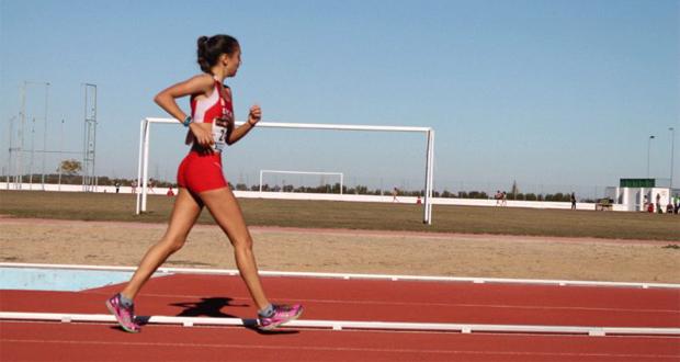 Irene Vázquez es hoy es todo un referente en la marcha atlética española. Fuente: AD