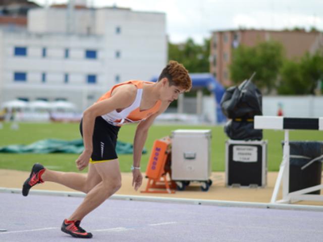 Jesús Serrano forma parte de los 12 atletas españoles clasificados para los Juegos Olímpicos de Nanjing. Fuente: AD