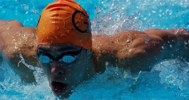 Gonzalo Carazo se ha proclamado campeón de España junior en 200 y 400 estilos. Fuente: AD