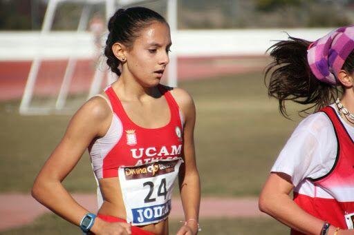 La atleta ha logrado este año la medalla de oro en 5.000 metros en pista cubierta en el Campeonato de España Juvenil. Fuente: AD