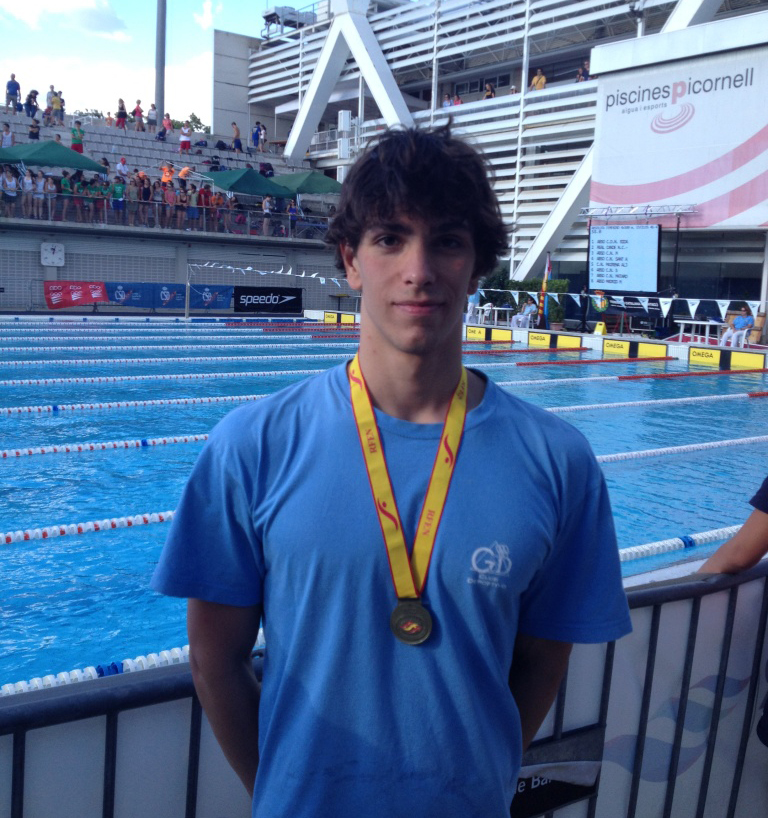 El nadador madrileño pertenece actualmente al Club Gredos San Diego. Fuente: AD