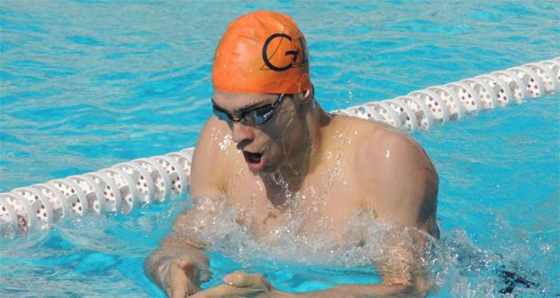 Gonzalo Carazo se encuentra 2º en el ranking europeo junior masculino en 400 estilos. Fuente: AD