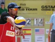 Herrera-Gavira se despiden del Grand Slam