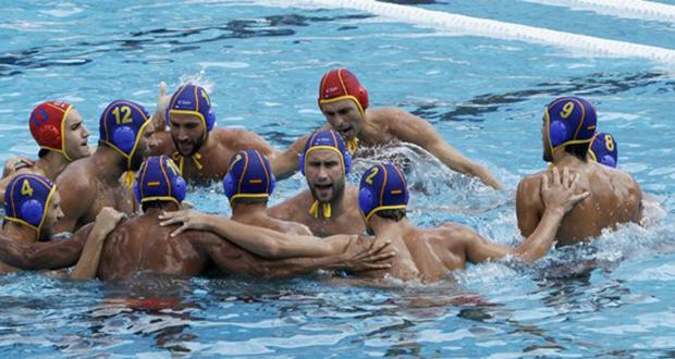 La selección española masculina de waterpolo vence a Rumania en el Europeo de Budapest. Fuente: RFEN