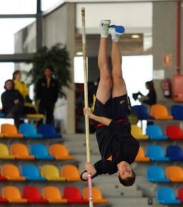 El catalán en un salto. Fuente: AD