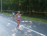 Julia Takacs, récord de España en 5 km marcha