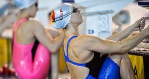La nadadora Laura Yus. Fuente: AD
