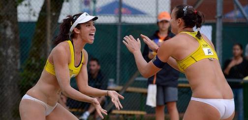 Fernández-Baquerizo logran el pase a octavos de final en el Grand Slam de Klagenfurt. Fuente: RFEVB
