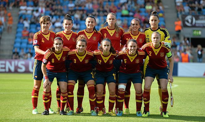 La selección española femenina sub 19 se ha proclamado subcampeona de Europa. Fuente: AD