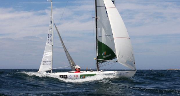 El regatista Rafa Andarias gana el Trofeo Santander de vela. Fuente: RFEV