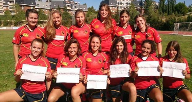 La selección española de rugby seven que estará en los Juegos Olímpicos de la Juventud. Fuente: Ferugby
