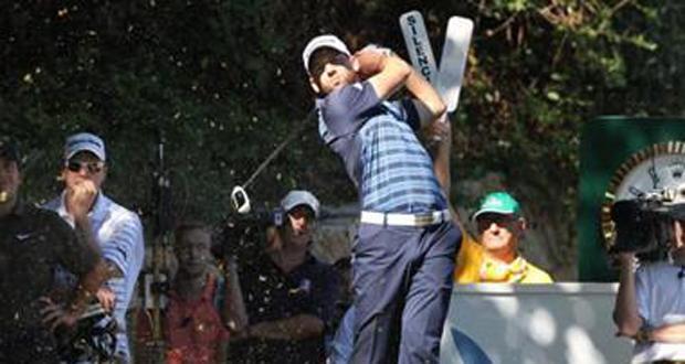El golfista español Sergio García durante un torneo. Fuente: RFEGOLF