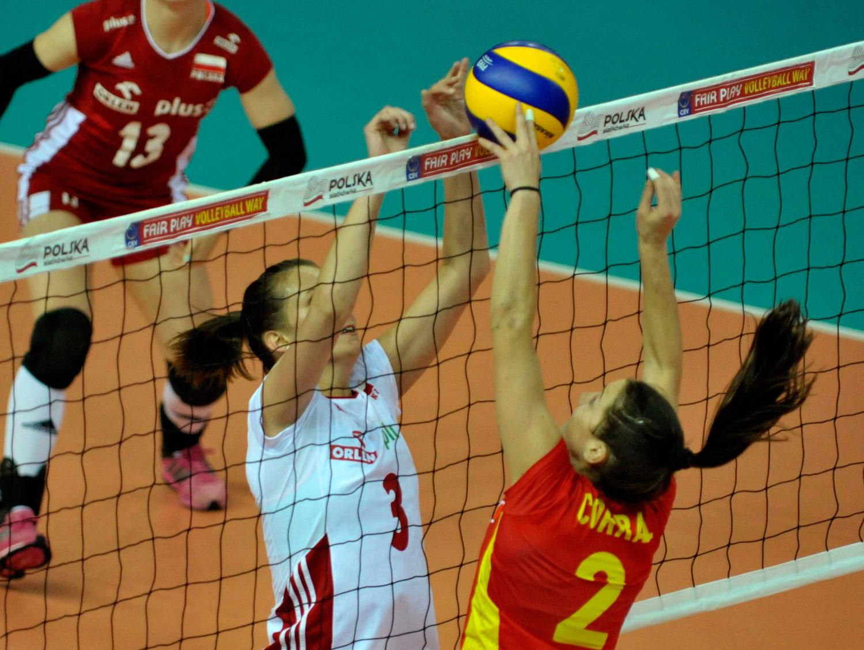 Las españolas se enfrentarán de nuevo hoy a las polacas en esta Liga Europea. Fuente: RFEVB