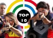 Los tiradores españoles destacan en el Top 10 mundial