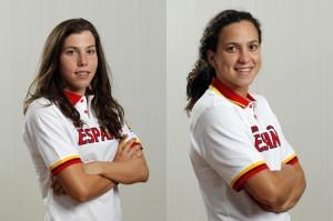 Jimena Pérez y Sandra Parallarés.
