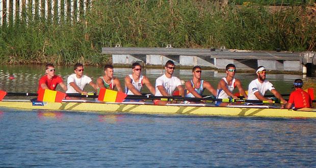 El equipo español 8+M de remo. Fuente: Federemo