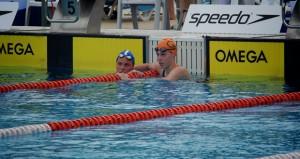 La nadadora del Gredos San Diego. Fuente: AD