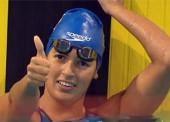 Oro y récord mundial para la 'sirena' Michelle Alonso