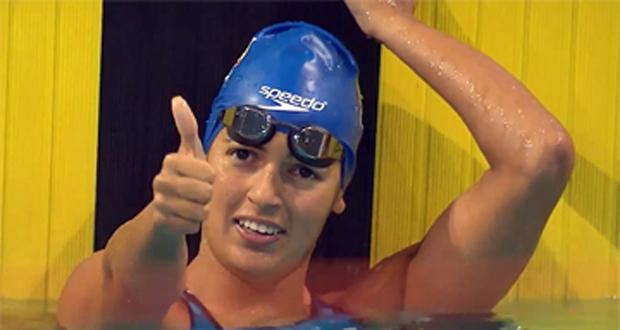 La canaria Michelle Alonso conquista el oro y el récord del mundo. Fuente: C. Paralímpico Español