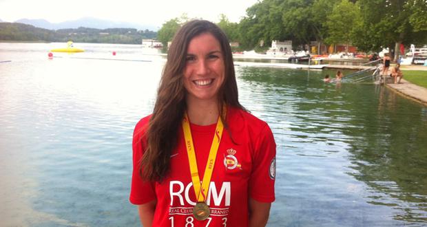 La nadadora del Real Club Mediterráneo Paula Ruiz. Fuente: RCM