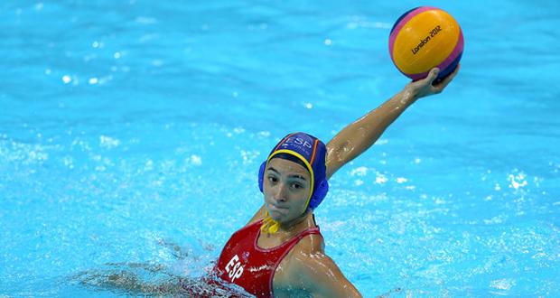 La jugadora de la selección española de waterpolo, Roser Tarragó. Fuente: AD