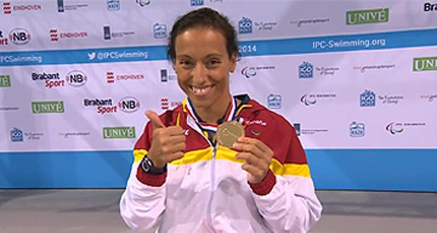 Teresa Perales ha sido la española que más medallas ha logrado, 4 oros y 3 platas. Fuente: CPE