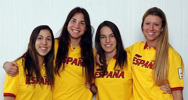 Laia Flores, Helena Orts, Lucía Togores y Ana Calvo, medalla de bronce en Nanjing. Fuente: COE