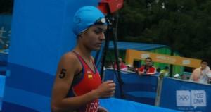 La triatleta Carmen Gómez. Fuente: COE