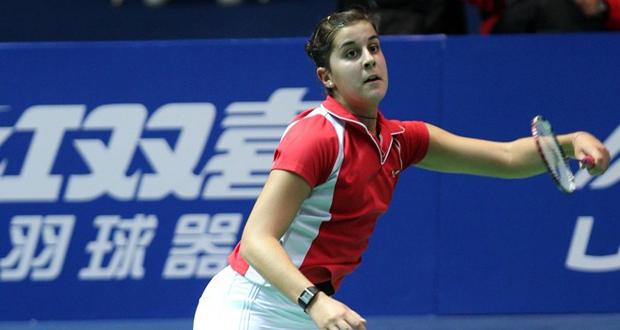 La andaluza Carolina Marín se mete en cuartos de final del Mundial. Fuente: AD