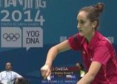 Clara Azurmendi, diploma olímpico en Nanjing