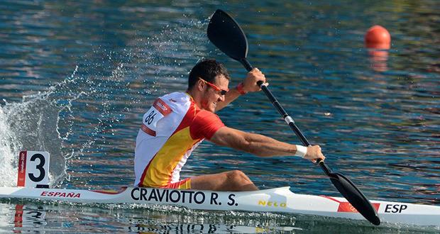 El kayakista español Saúl Craviotto. Fuente: AD