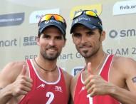 Herrera-Gavira recuperan la sonrisa con su triunfo en Biel