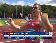 Héctor Cabrera, campeón de Europa en jabalina