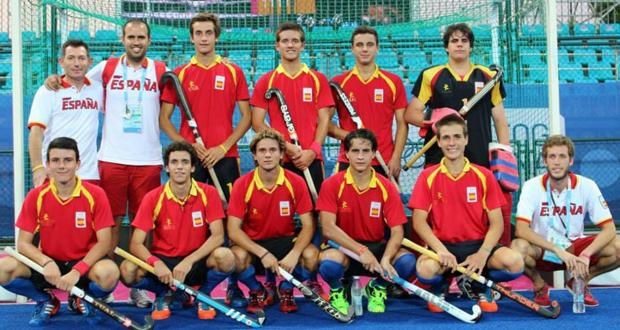 La selección española de hockey hierba sub 18, bronce olímpico. Fuente: RFEH