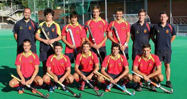 La selección de hockey hierba sub 18 que participará en los Juegos Olímpicos de la Juventud. Fuente: RFEH