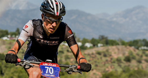 Sergio Mantecón ha finalizado la Copa del Mundo de mountain bike en 7ª posición. Fuente: AD