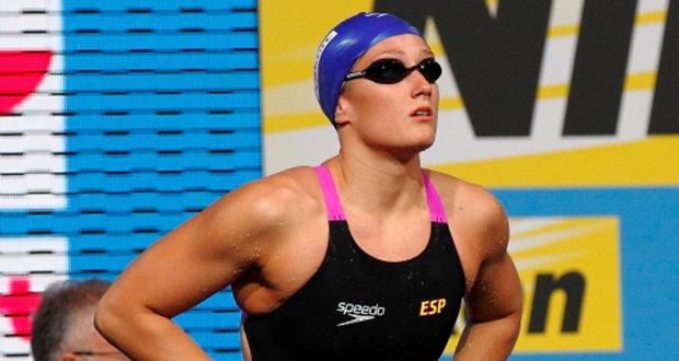 La nadadora española Mireia Belmonte sigue sumando medallas. Fuente: Quintín García / RFEN