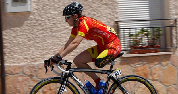 La ciclista catalana Raquel Acinas. Fuente: CSD