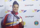 Rosana Simón, bronce en el Grand Prix de Astana