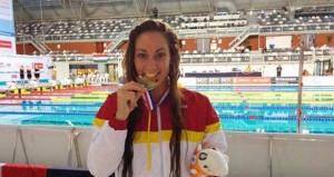 Sarai Gascón logra 6 medallas. Fuente: AD