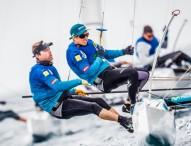 Iker Martínez y Tara Pacheco abandonan el Mundial de vela