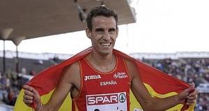 El atleta madrileño. Fuente: AD