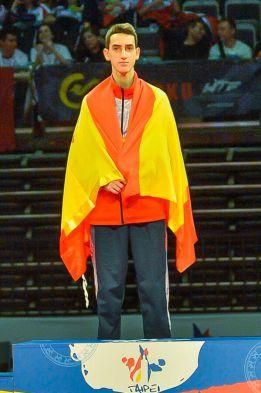 jesus tortosa oro europeo sub21 taekwondo