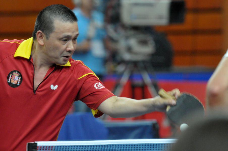 """He Zhiwen """"Juanito"""". Foto: ITTF"""