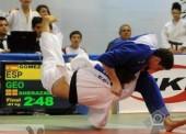 Nikoloz Sherazadishvili, bronce en el Europeo júnior de judo