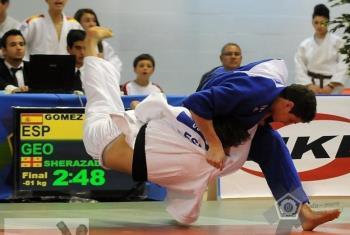judo Nikoloz Sherazadishvili junior