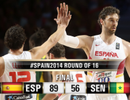 España, a cuartos tras vencer a Senegal